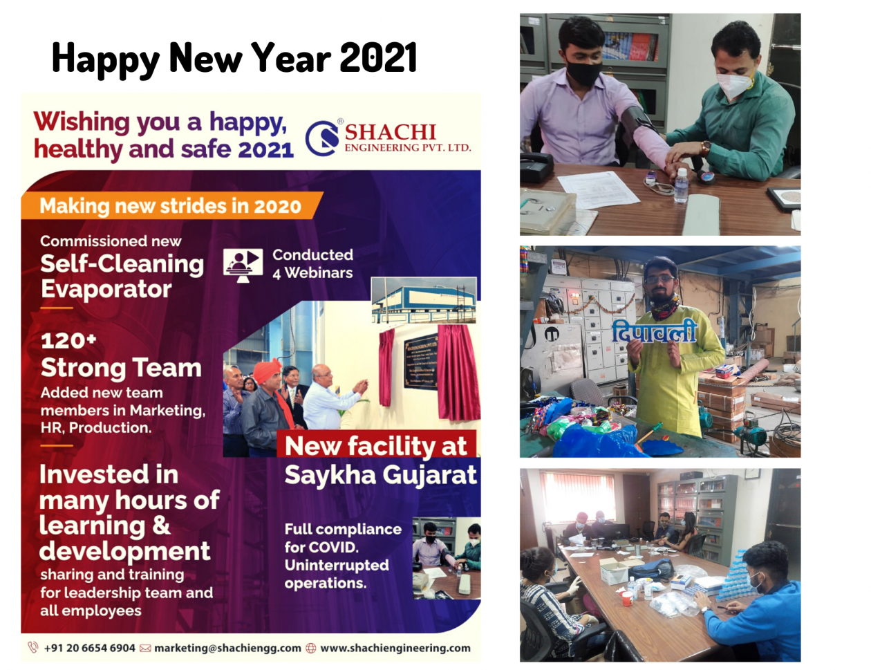 Shachi wish you a very happy new year