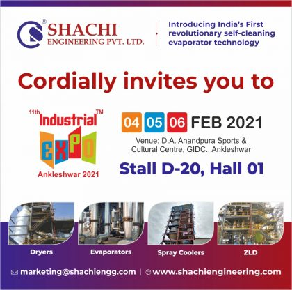 Industrial Expo 2021- Shachi Engineering