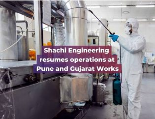 hachi Engineering resumes operations at Pune and Gujarat Works - Shachi Engineering