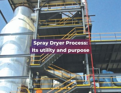 Spray Dryer Process Its utility and purpose- Shachi Engineering