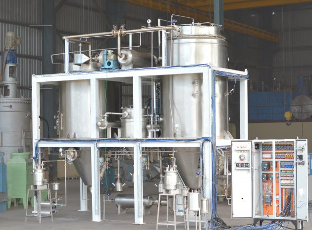 Spray drying plant with advanced PLC control systems - Shachi Eng